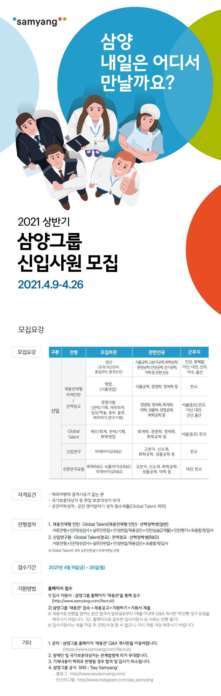 (기간연장) 2021 상반기 삼양그룹 신입사원 모집.jpg